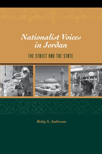 9780292706255: Nationalist Voices in Jordan: The Street and the  State