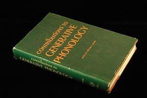 9780292710016: Contributions to Generative Phonology