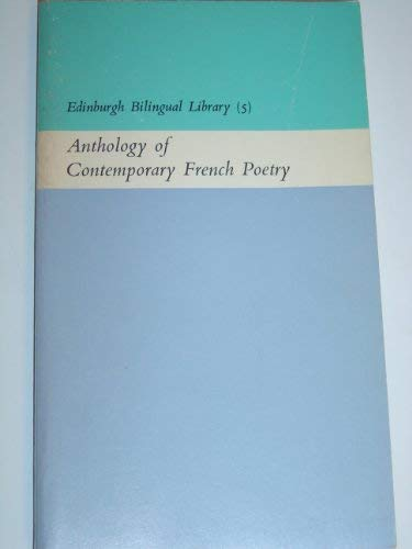 9780292710047: Anthology of Contemporary French Poetry