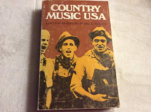 9780292710290: Country Music, United States of America: A Fifty Year History (Publications of The American Folklore Society)