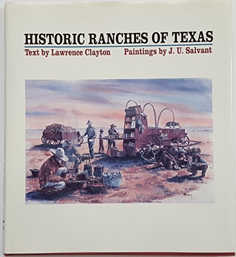 9780292711549: Historic Ranches of Texas