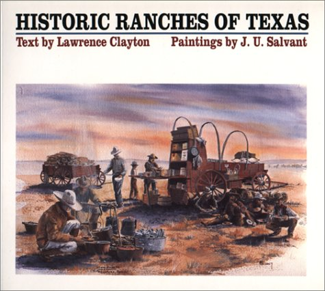 9780292711891: Historic Ranches of Texas