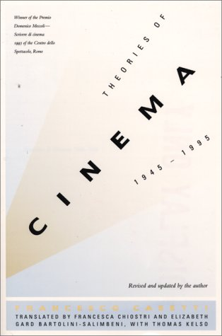 9780292712072: Theories of Cinema, 1945-1995