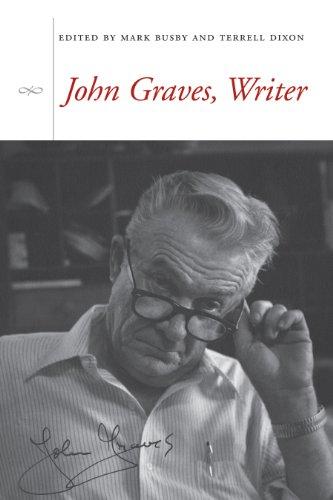9780292714946: John Graves, Writer