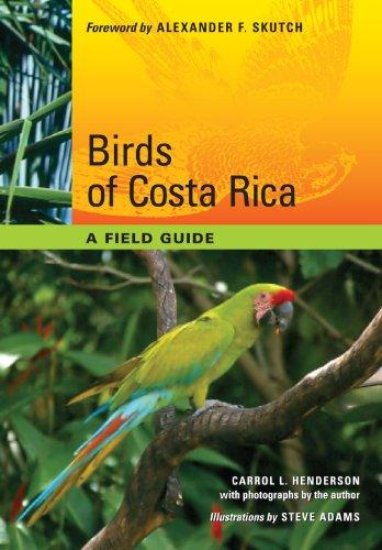Birds of Costa Rica: A Field Guide: Henderson, Carrol L.