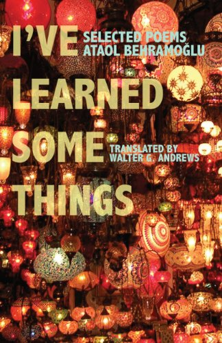 I've Learned Some Things (Modern Middle East: Behramoglu, Ataol