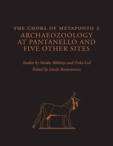 The Chora of Metaponto 2; Archaeozoology at Pantanello and Five Other Sites