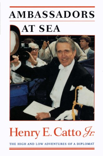 9780292723719: Ambassadors at Sea: The High and Low Adventures of a Diplomat