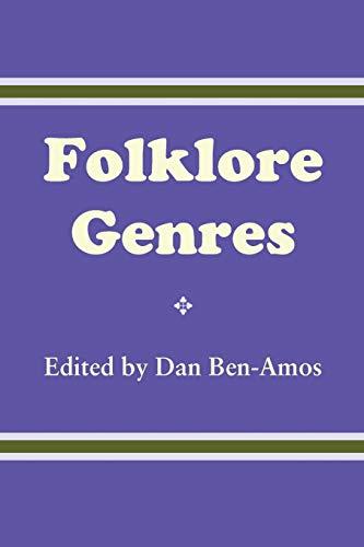 Folklore Genres