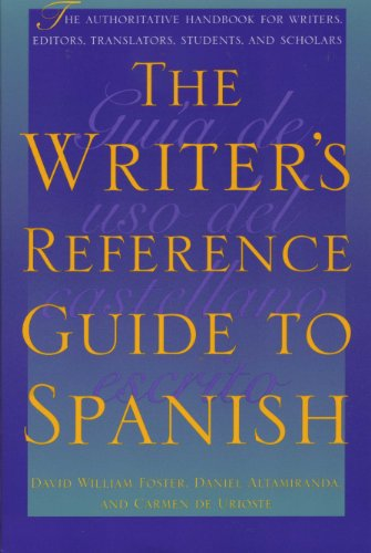 9780292725126: The Writer's Reference Guide to Spanish