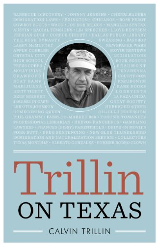 Trillin on Texas (Bridwell Texas History): Trillin, Calvin