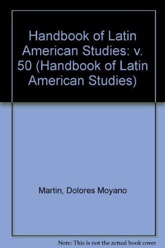 Handbook of Latin American Studies: Humanities