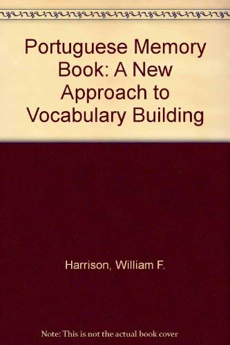 9780292731059: Portuguese Memory Book: A New Approach to Vocabulary Building