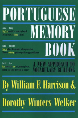 9780292731066: Portuguese Memory Book: A New Approach to Vocabulary Building