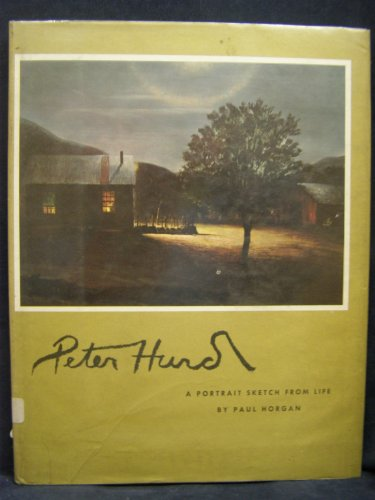 Peter Hurd: A Portrait Sketch From Life: Horgan, Paul