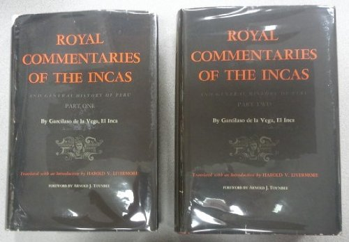 9780292733589: Royal Commentaries of the Incas and General History of Peru