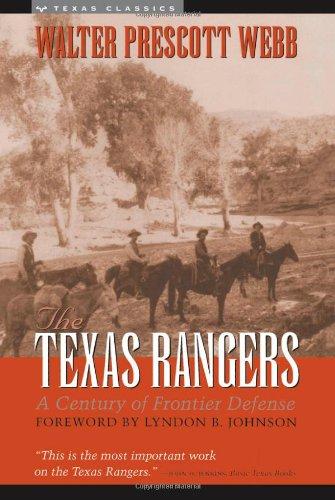 9780292734005: The Texas Rangers: A Century of Frontier Defense (Texas Classics)