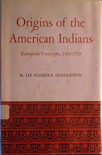 9780292736931: Origins of the American Indians: European Concepts, 1492-1729 (Latin American Monographs, No. 11)