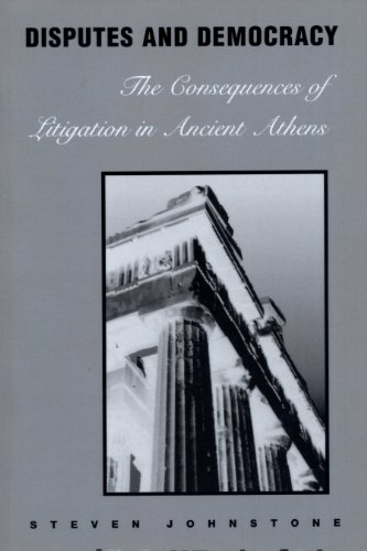 9780292740532: Disputes and Democracy: The Consequences of Litigation in Ancient Athens