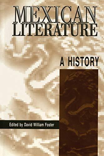 9780292744806: Mexican Literature: A History (Texas Pan American)