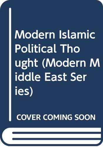 9780292750692: Modern Islamic Political Thought (Modern Middle East Series)