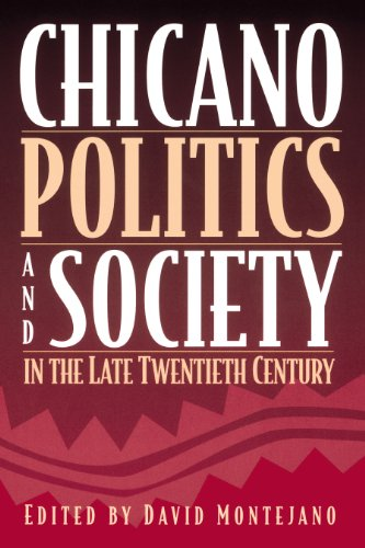 9780292752153: Chicano Politics and Society in the Late Twentieth Century