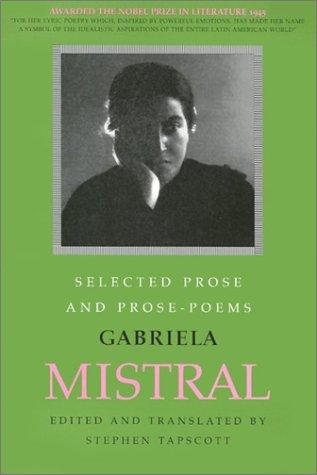 Selected Prose and Prose Poems (English and Spanish Edition): Tapscott, Translator: Stephen