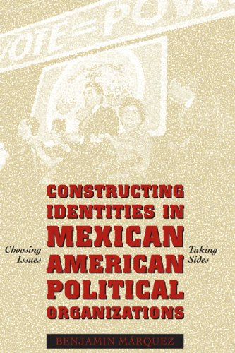 9780292752771: Constructing Identities in Mexican-American Political Organizations: Choosing Issues, Taking Sides
