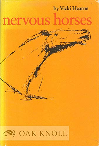 9780292755178: Nervous Horses (The University of Texas Press poetry series ; no. 6)