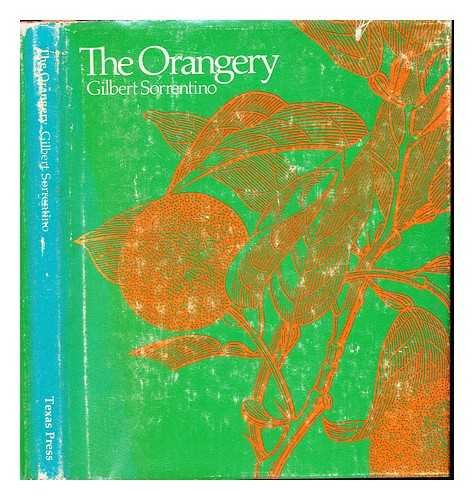 9780292760080: The Orangery (The University of Texas Press Poetry Series: Number 3)