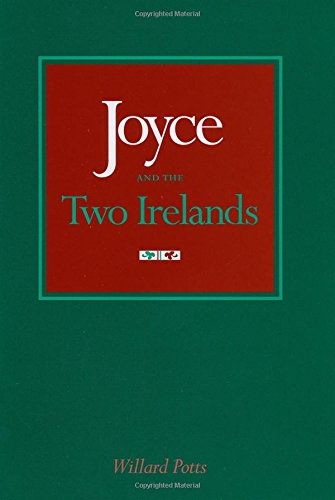 9780292765917: Joyce and the Two Irelands (Literary Modernism Series; Thomas F. Staley, Editor)
