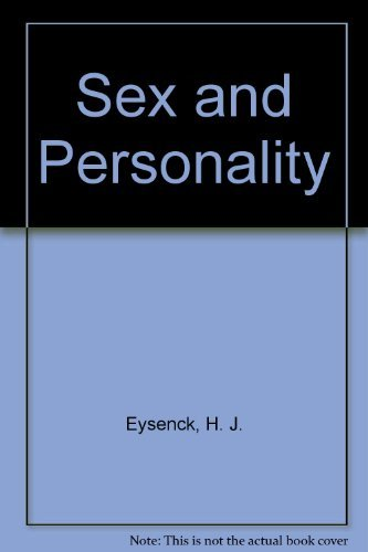 Sex and Personality: Eysenck, H. J.