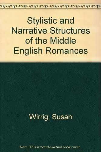 9780292775411: Stylistic and Narrative Structures in the Middle English Romances