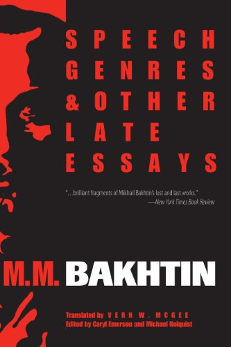 9780292775602: Speech Genres and Other Late Essays
