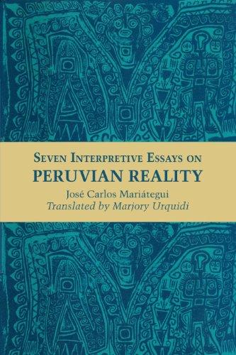 9780292776111: Seven Interpretive Essays on Peruvian Reality (Texas Pan American Series)