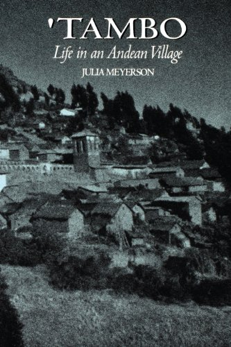 9780292780781: 'Tambo: Life in an Andean Village