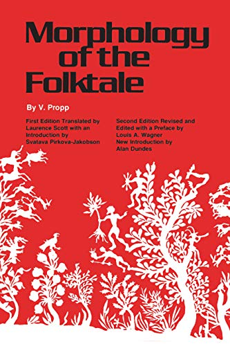 9780292783768: Morphology of the Folktale (Publications of the American Folklore Society)