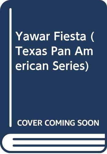 9780292796010: Yawar Fiesta (Texas Pan American Series) (English and Spanish Edition)