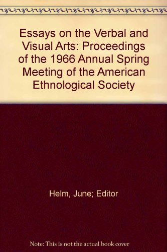 9780295740058: Essays on the Verbal and Visual Arts