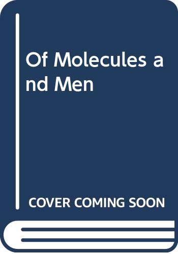 9780295740355: Of Molecules and Men