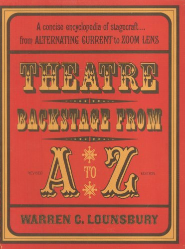 9780295740911: Theatre Backstage from A to Z