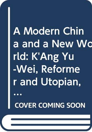 A Modern China and a New World: Xiao, Gongquan, Hsiao,