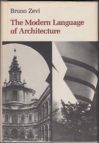 9780295955681: The Modern Language of Architecture