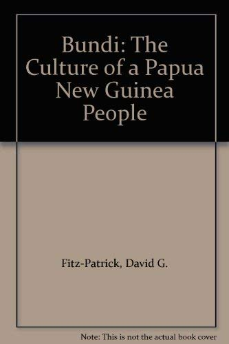9780295962337: Bundi: The Culture of a Papua New Guinea People