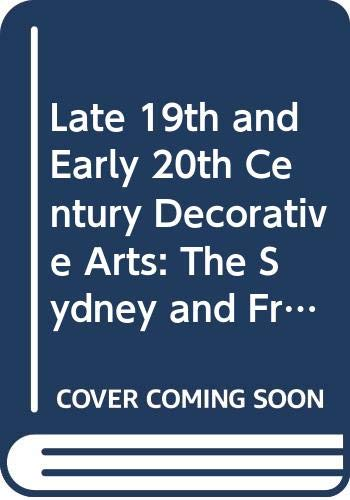 9780295963778: Late 19th and Early 20th Century Decorative Arts: The Sydney and Frances Lewis Collection in the Virginia Museum of Fine Arts