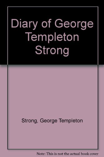 9780295965116: Diary of George Templeton Strong