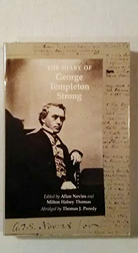 9780295965123: Diary of George Templeton Strong