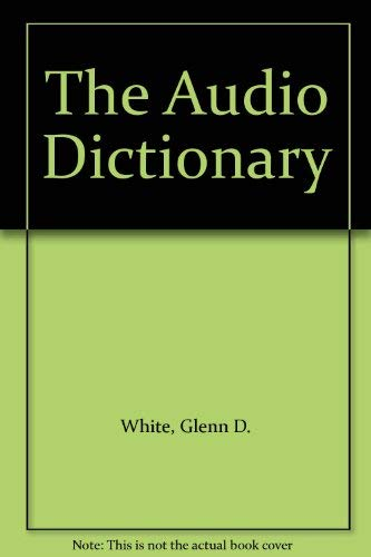 9780295965284: The Audio Dictionary