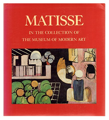 9780295965987: Matisse in the Collection of the Museum of Modern Art, Including Remainder Interest and Promised Gifts