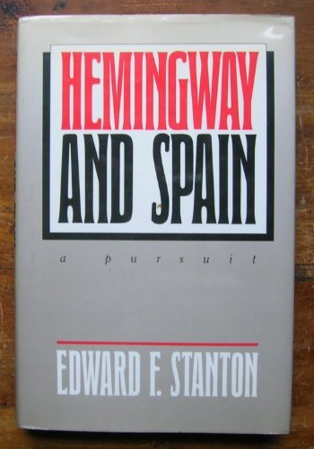 9780295967103: Hemingway and Spain: A Pursuit